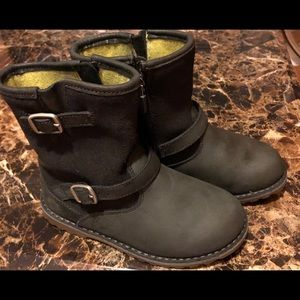 UGG Little Kids' T Harwell Charcoal Boot Size 11